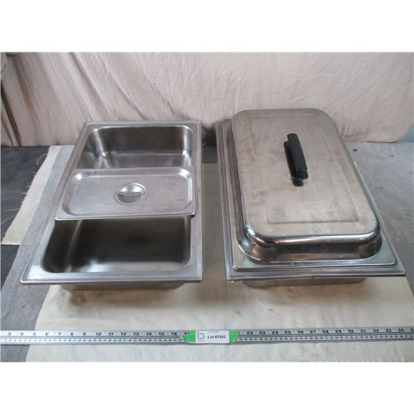 Spare Stainless Steel serving trays + lid for heater