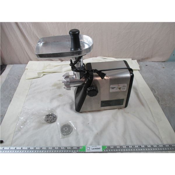 Waring Pro Electric Meat Grinder - working
