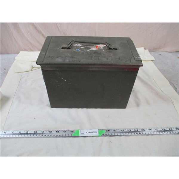 Small Military Ammo crate - 12x7x9