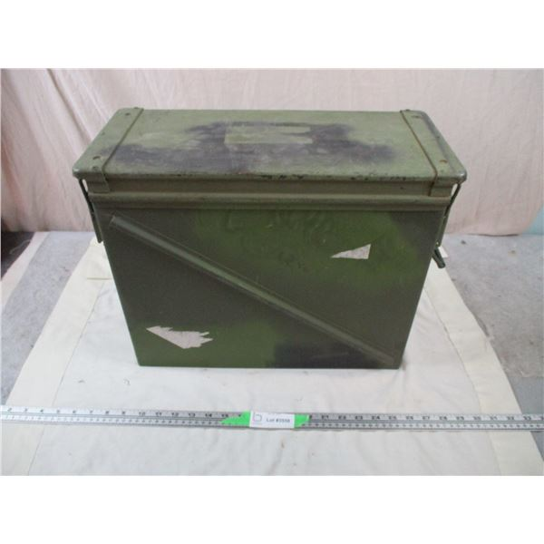 Large Military ammunition crate - 18x8x14