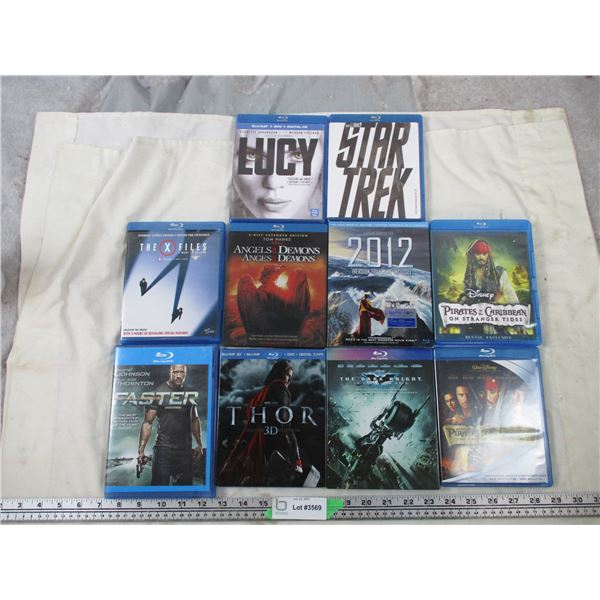 10 BLu-Ray movies lot - Action movies
