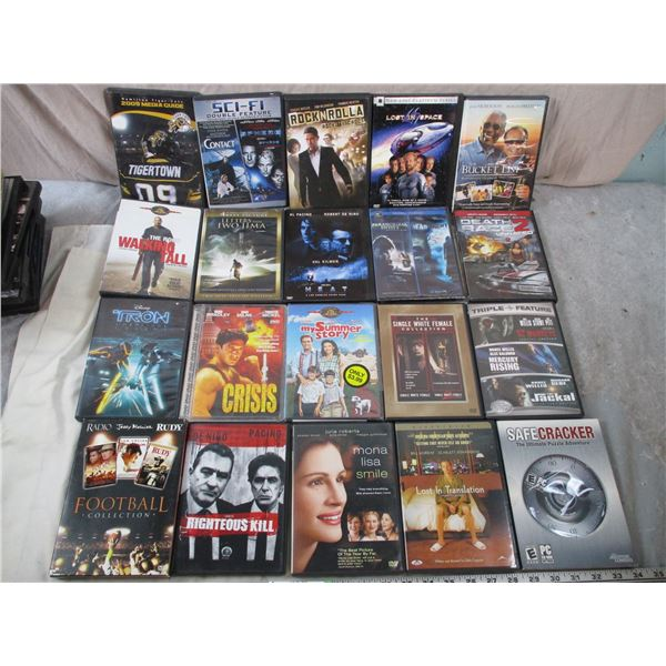 20 DVD Lot - Misc Movies