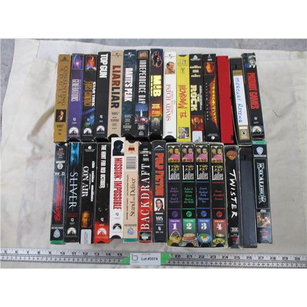 Large VHS Movie Lot