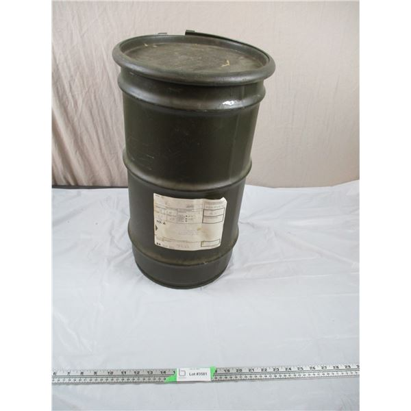 """Military Drum - Tall - 12"""" diamter, 21"""" tall"""