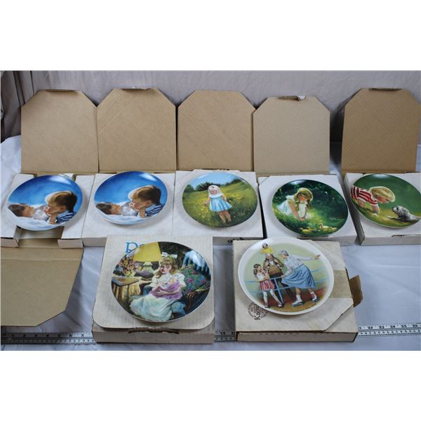 Donald Zolan Special Moments Plates + Reco/Knowles - all in box with Certificates