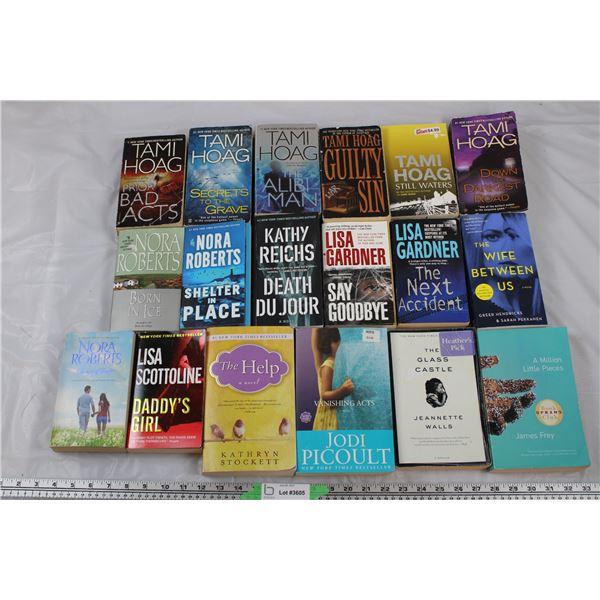 Book Lot - Tami Hoag, Nora Roberts, Lisa Gardner