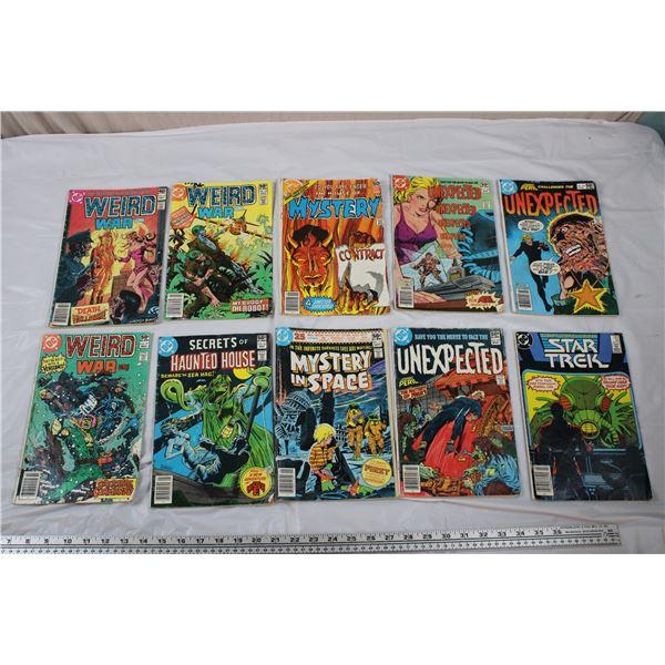DC Comics Lot - Weird War, Star Trek, Mysteries