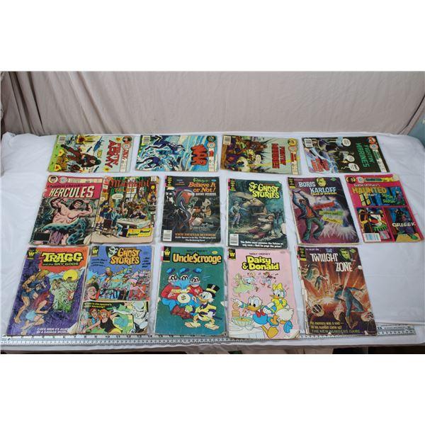 Vintage Comics - Gold Key, Charlton, Whitman - 70's-80's