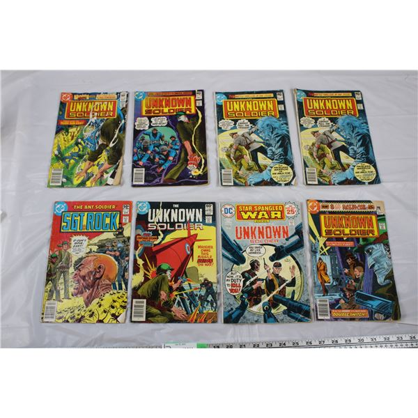 DC Comics Lot of 8 Unknown Soldier