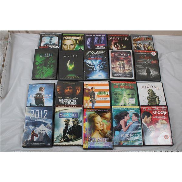 20 DVD movie Lot - Horror + Drama