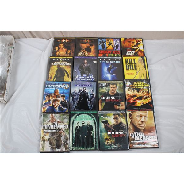 DVD Movie Lot - Action/adventure