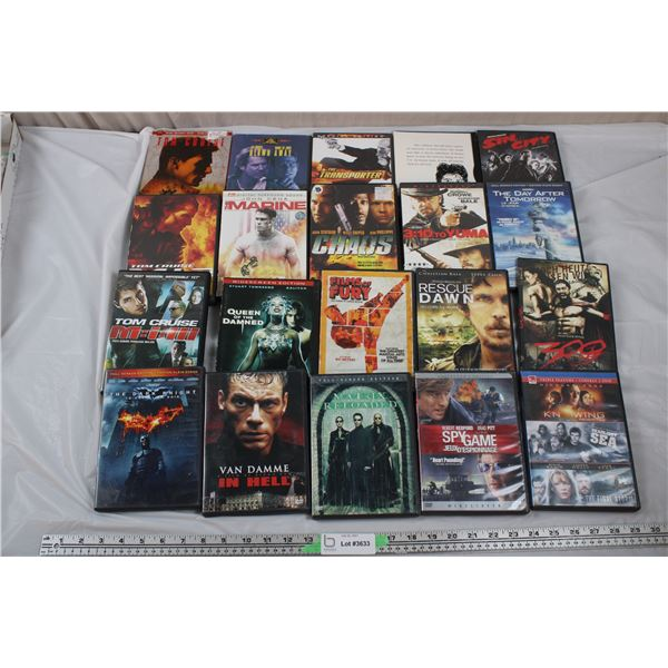 20 DVD Movies - Action