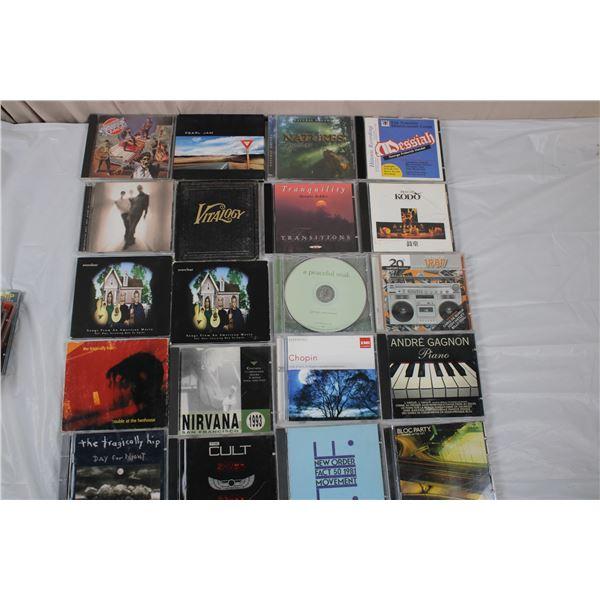 CD Music Lot - Nirvana, Everclear, Pearl Jam, Tragically Hip