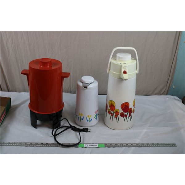 Orange Coffee Perk (Polyperk Regal), Decanters - airpot