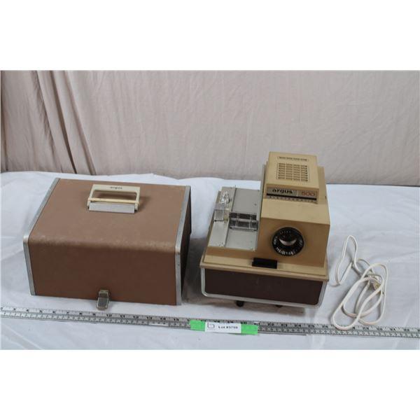 Vintage Argus portable projector in case