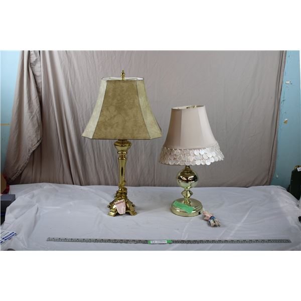 Two Lamps, one is touch lamp