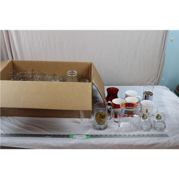 Box of Cups + Mugs