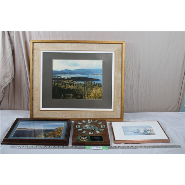 Newfoundland Scenic Prints + Wall Clock