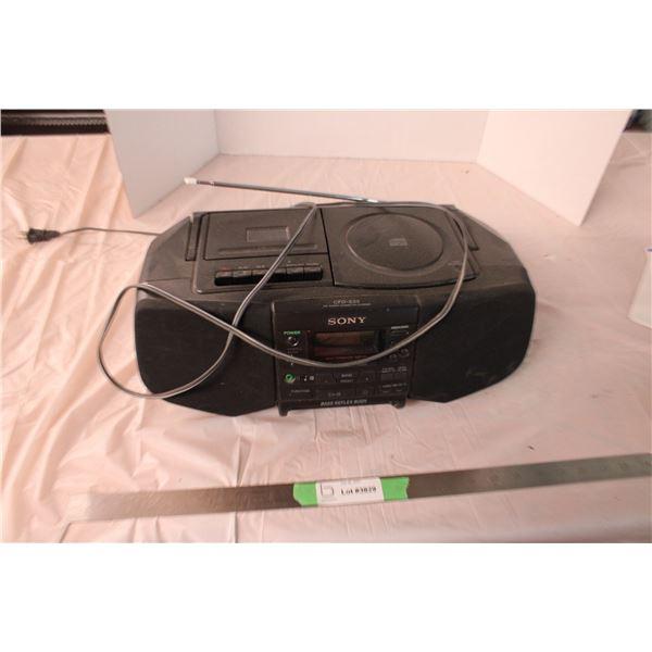 Sony Boom Box CD Player