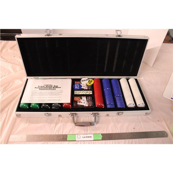 Texas Hold-Em Tournament Poker Set