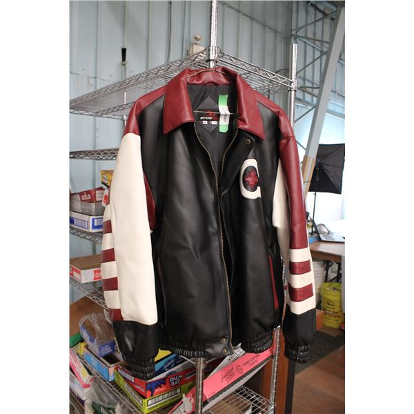 Sportek Leather Jacket Size M