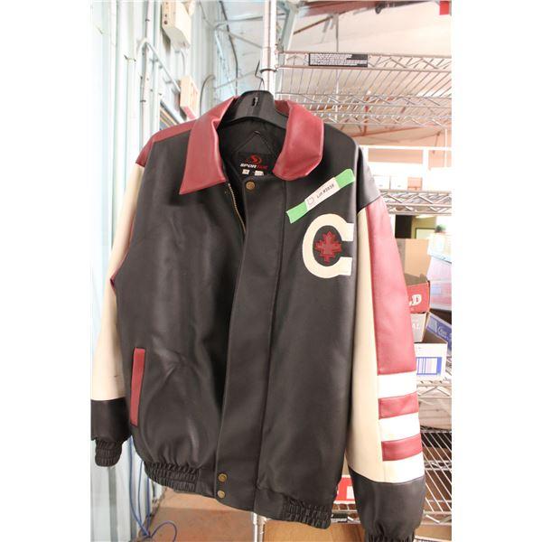 Sportek Leather Jacket Size S