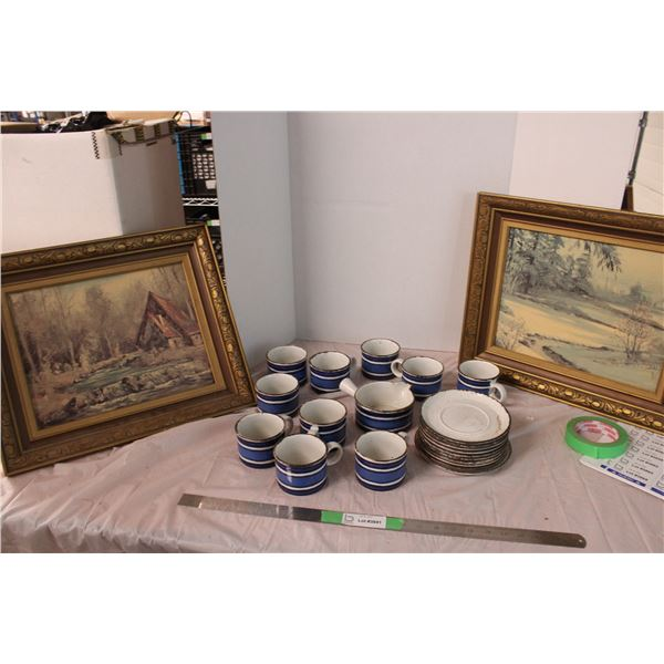 Glass Kitchenware Plates Cups 2 Pictures