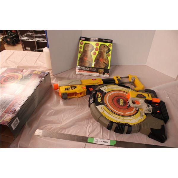 Nerf Gun and Nerf Target