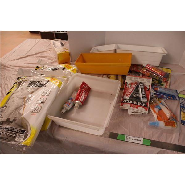 Tube Glues Silicone Plastic Trays Coveralls