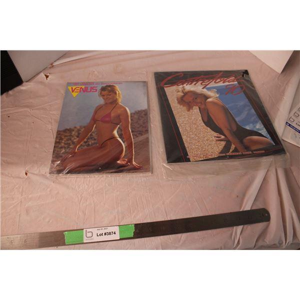 Centerfold and Venus Calendars