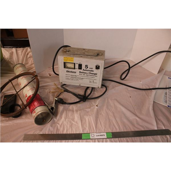 Battery Charger and Misc Items Welding Rods NI-ROD