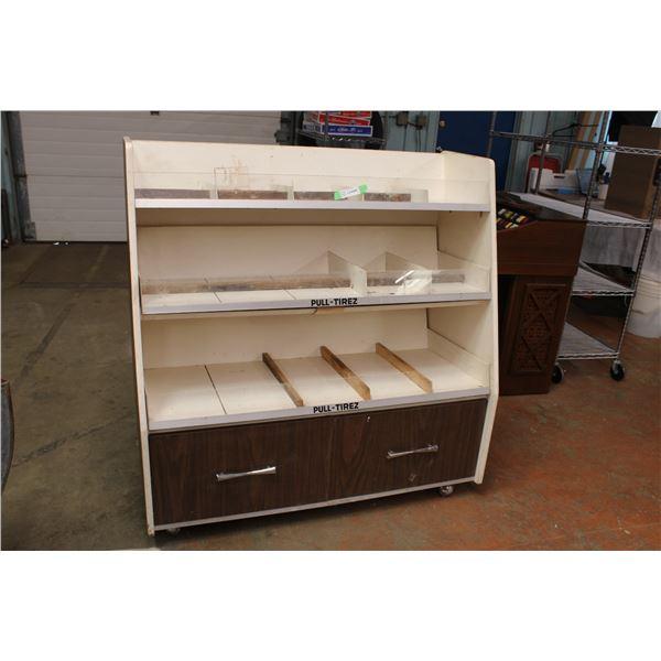 """Store Display Shelf 48"""" x 14"""" x 49"""" Tall"""