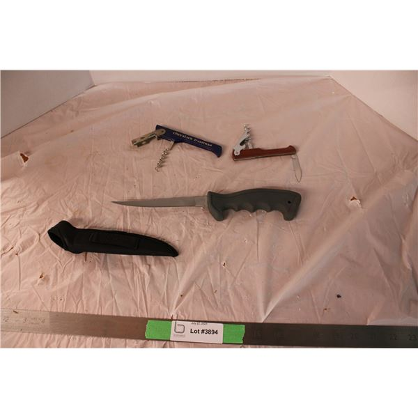 Filleting Knife and Multi Tools