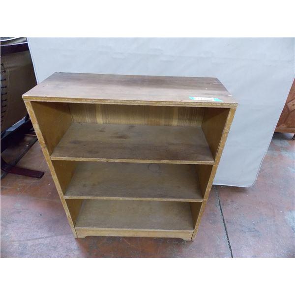 "Small wooden Book Shelf - 35"" tall, 28"" wide"