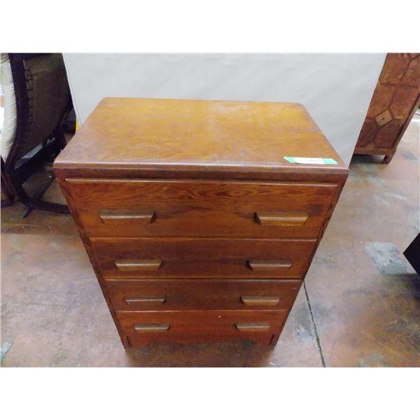 """Wooden Dresser - 4 drawer - 25""""wide, 35.5""""high, 16"""" deep"""