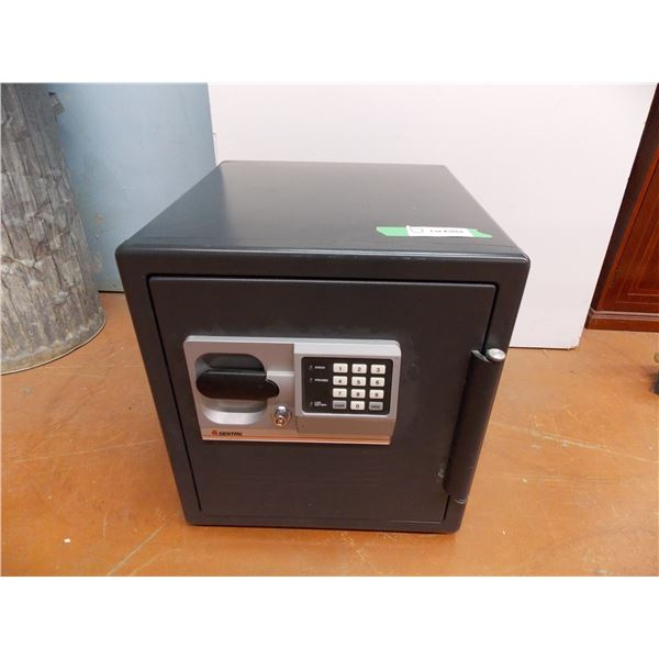"""Sentury Safe with Key + Code (both included) - Outside Diameter 18x18x16""""wide"""