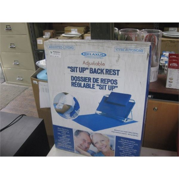 RELAXUS SIT UP BACK REST