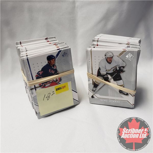 Hockey Cards: Upper Deck SP Authentic Series 2006-07 (2 Bundles = approx 200+Cards) SEE PICS!