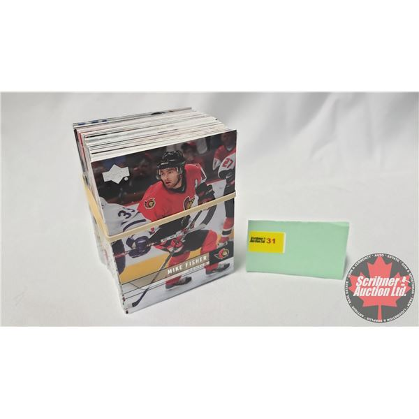 Hockey Cards: 2005-06 Upper Deck Series 2 (1 Bundle = approx 95 Cards) SEE PICS!