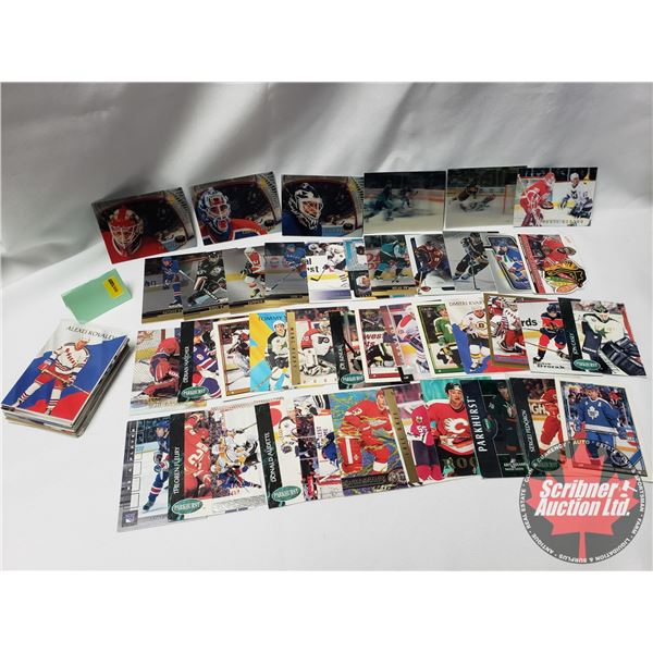 Hockey Cards - Variety!  (70+ Cards) (SEE PICS!)