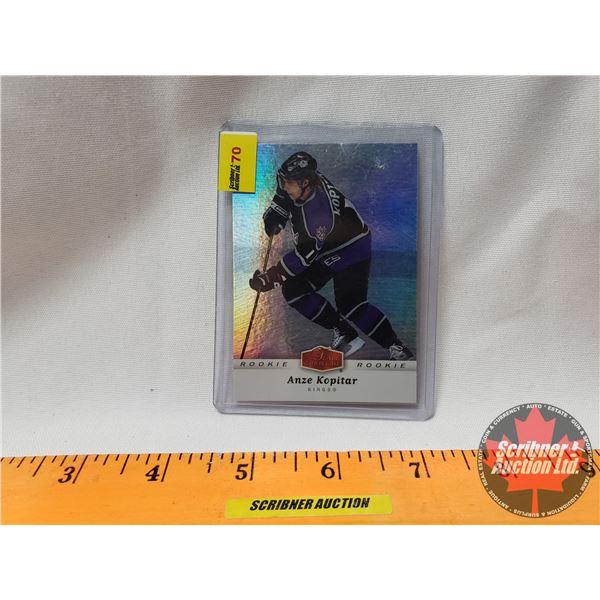 Hockey Card : Anze Kopitar Flair Showcase ROOKIE (SEE PICS!)