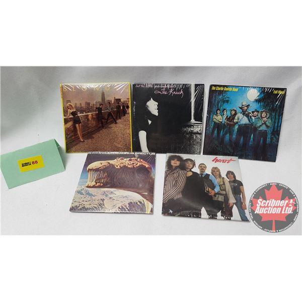 "Miniature Bubble Gum Records ""Chu-Bops"" : Blondie; The Knack; The Charlie Daniels Band; Heart; Blue"