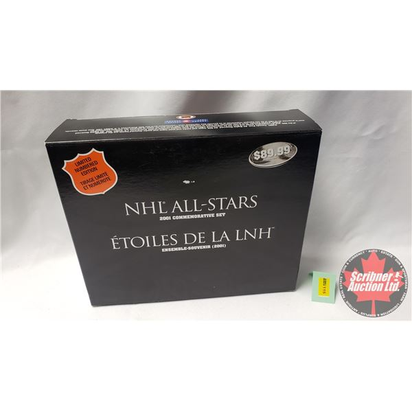 NHL All-Stars 2001 Commemorative Set - Limited Numbered Edition (UNOPENED)