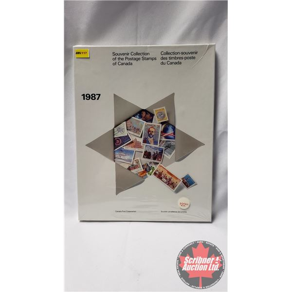 Canada Post Corporation 1987 Souvenir Collection of the Postage Stamps of Canada