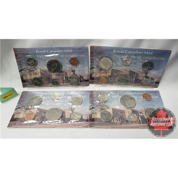RCM 1976 Uncirculated Proof Like Year Sets - Collection of 4 Sets !