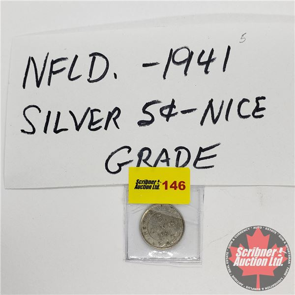 Newfoundland Five Cent 1941