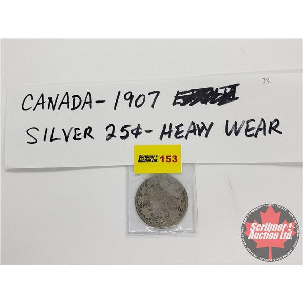Canada Twenty Five Cent 1907