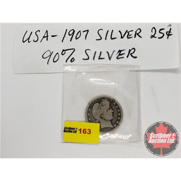 USA Quarter 1907
