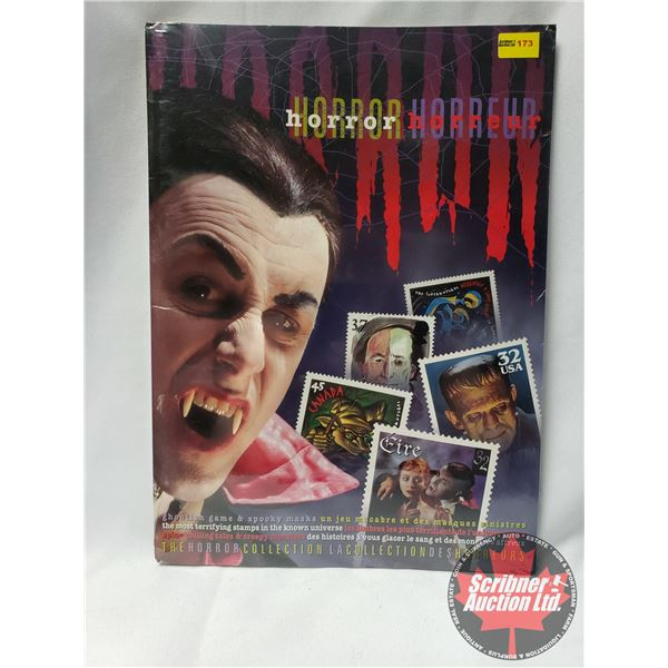 The Horror Collection (Stamps, Game, Masks, Poster) (US Postal Service/Canada Post) SEE PICS!