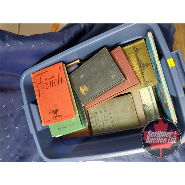 Tote Lot of Antique Books (23):  Variety  Hardcovers (SEE PICS!)